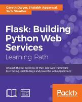 Flask  Building Python Web Services PDF