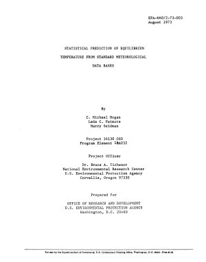 Statistical Prediction of Equilibrium Temperature from Standard Meteorological Data Bases PDF