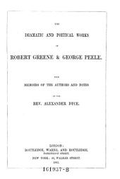 The Dramatic and Poetical Works, with Notes by Alexander Dyce