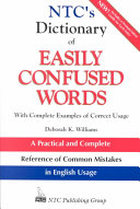 NTC s Dictionary of Easily Confused Words PDF