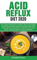 Acid Reflux Diet 2020