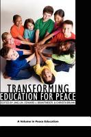 Transforming Education for Peace PDF