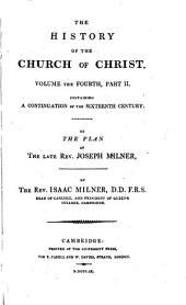 The history of the Church of Christ ...