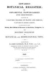 Edwards's Botanical Register