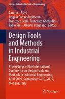 Design Tools and Methods in Industrial Engineering