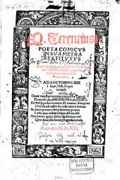 Poeta comicus P. Terentius in sua metra restitutus