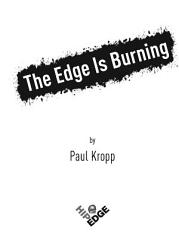 The Edge Is Burning Book PDF