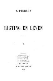 Rigting en leven: Volume 1
