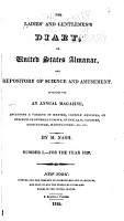 The Ladies  and Gentlemen s Diary  Or  United States Almanac  and Repository of Science and Amusement     PDF