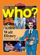 세계 위인전 Who? 14권 Walt Disney