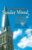 St  Joseph Sunday Missal And Hymnal For 2019  Canadian Edition