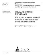 Small Business Programs