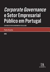 Corporate Governance e Setor Empresarial Público em Portugal