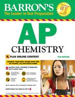 AP Chemistry with Online Tests PDF
