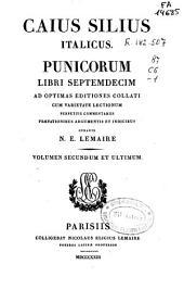 Caius Silius Italicus Punicorum libri septemdecim: Volume 2