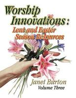 Worship Innovations Volume 3 PDF