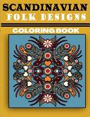 Scandinavian Folk Designs Coloring Book
