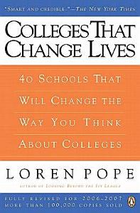 Colleges That Change Lives Book
