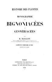 Histoire des plantes: Volume1