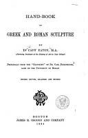 Hand book of Greek and Roman Sculpture PDF