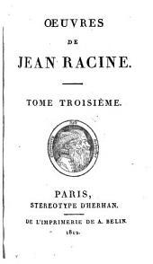 Œuvres de Jean Racine..: Iphigénie