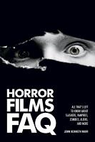 Horror Films FAQ PDF