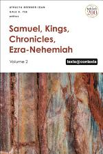 Samuel, Kings, Chronicles, Ezra-Nehemiah