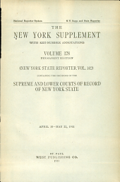 New York Supplement: Volume 128