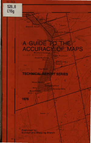 A Guide to the Accuracy of Maps