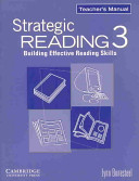 Strategic Reading 3 Teacher s Manual PDF