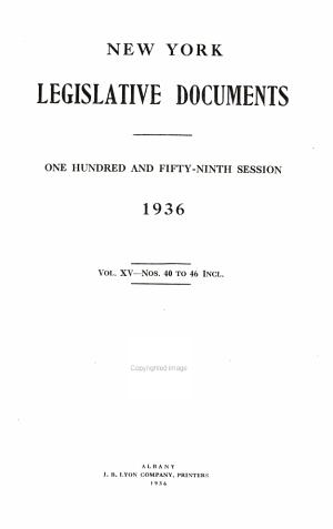 Legislative Document