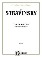 Three Pieces: For Clarinet Solo