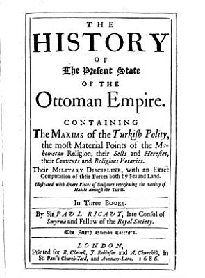 The History of the Present State of the Ottoman Empire PDF