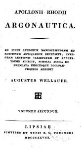 Apollonii Rhodii Argonautica: Volume 2