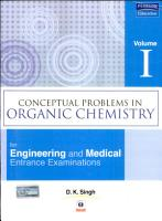 Conceptual Problems In Organic Chemistry  Volume I  PDF