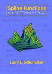 Spline Functions: Computational Methods