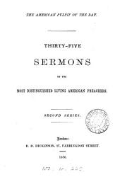 The American pulpit of the day, sermons by the most distinguished living American preachers