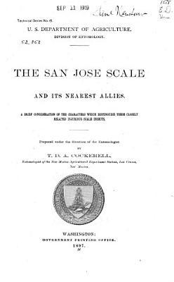 San Jose Scale and Its Nearest Allies PDF