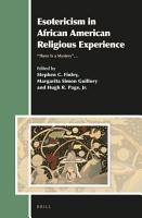 Esotericism in African American Religious Experience PDF