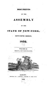 Documents of the Assembly of the State of New York: Volume 55, Issues 3-4