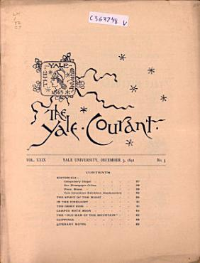The Yale Courant PDF