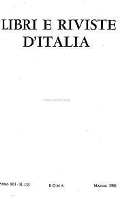 Libri e riviste d Italia PDF