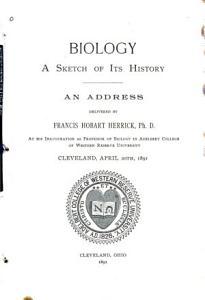 Biology  a Sketch of Its History PDF