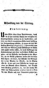 Chirurgische Abhandlungen über die Eiterung und den heissen Brand: Band 1