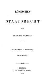 Römisches Staatsrecht: Band 2