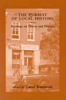The Pursuit of Local History PDF