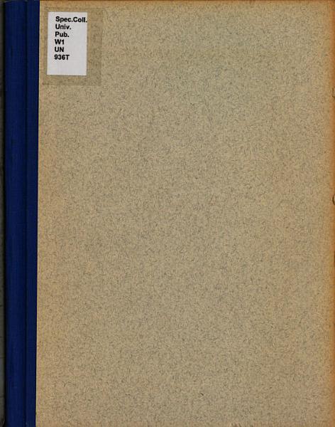 Download University Bulletin Book