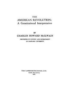 The American Revolution PDF
