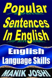 Popular Sentences in English: English Language Skills