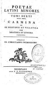 Poetae latini minores